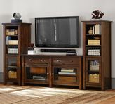 Pottery Barn Benchwright Media Suite with Towers