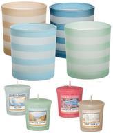 Yankee Candle Coastal Stripe Votive Set