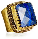 Lapis Stone Adjustable Ring