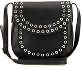 Frye Cassidy Large Grommet-Detail Cross-Body Bag
