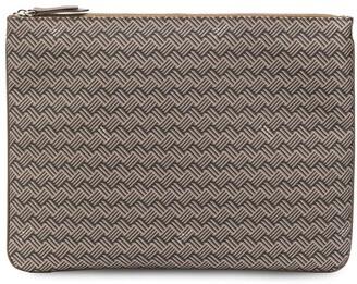 DELAGE Pochette Plate GM clutch bag