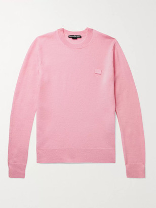 Acne Studios Kalon Logo-Appliqued Wool Sweater