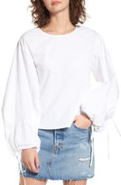 J.o.a. Women's Statement Sleeve Blouse