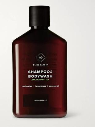 Blind Barber Lemongrass Tea Shampoo & Bodywash, 350ml