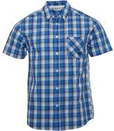 Kangaroo Poo Mens Checked Shirt Blue Multi