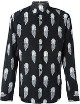 Roberto Cavalli all-over Pegasus print shirt