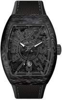 Franck Muller Vanguard Watch with Black Carbon Fiber Strap