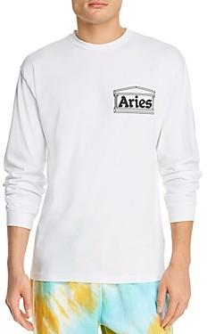 Aries Y2K Cotton Logo Graphic Tee