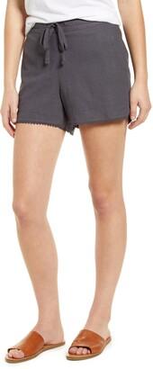 Caslon Solid Linen Blend Shorts
