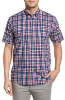 Cutter & Buck Sebastian Classic Fit Non-Iron Plaid Sport Shirt