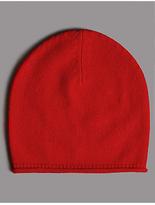 Autograph Pure Cashmere Beanie Winter Hat