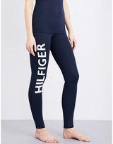 Tommy Hilfiger Flag Bold skinny mid-rise stretch-jersey leggings