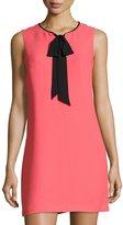 Cynthia Steffe Rosie Sleeveless Tie-Neck Shift Dress, Pink