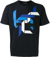 Neil Barrett print T-shirt - men - Cotton - S