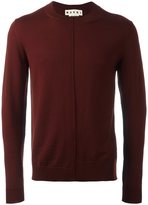 Marni crew neck jumper - men - Virgin Wool - 52
