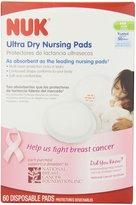 NUK Gerber Ultra Dry Nursing Pads, 60-Pack