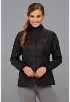 Puma Quilted Wind Jacket (Black) - Apparel