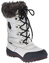 Cougar As Is Waterproof Lace-up Snow Boots w/Faux Fur - Cranbrook