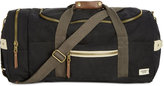Steve Madden Men's Canvas Military Duffel Bag