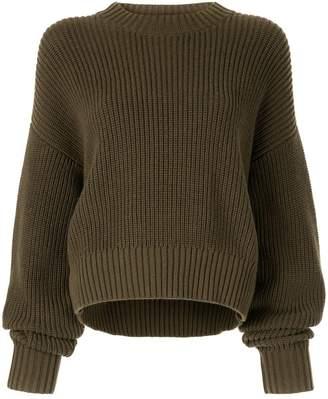 Bassike knitted sweatshirt