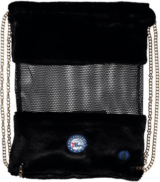 Philadelphia 76ers Mesh Gold Chain Drawstring Bag
