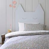 Christy Ladybird Floral Print Cotton Duvet Cover and Pillowcase Set, Single