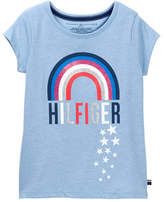 Tommy Hilfiger Rainbow Tee (Big Girls)