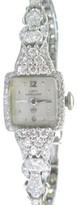 Hamilton Platinum & 14K White Gold Diamond Watch