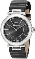 Salvatore Ferragamo Women's FIN010015 Style Analog Display Quartz Black Watch