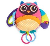 Oops! Oops Little Helper 20 x 24cm Multi Textured and Sensory Soft Activity Toy in Adorable and Vibrant Owl Design (Large) by Oops