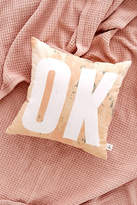 Urban Outfitters Ok Throw Pillow