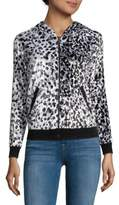 Roberto Cavalli Animal-Print Novelty Jacket