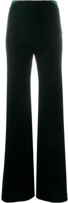Galvan Winter Sun velvet-effect trousers
