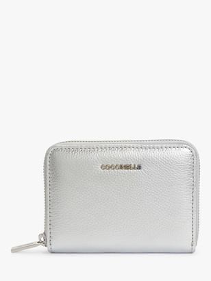 Coccinelle Metallic Small Soft Leather Purse