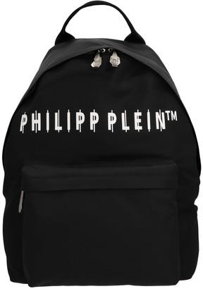 Philipp Plein Logo Backpack
