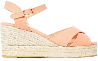Castaner Cotton-canvas Wedge Espadrille Sandals