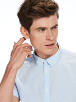 Scotch & Soda Structured Cotton Short Sleeved Shirt