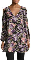 Lucca Couture Cut Out Print Shift Tunic
