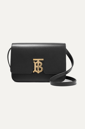 Burberry Small Leather Shoulder Bag - Black