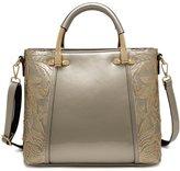 Tibes Fashion Ladies Shoulder Bag Faux Leather Messenger Purse Handbag