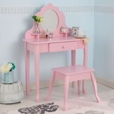 Kid Kraft Medium Pink Diva Table & Stool