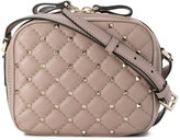 Valentino studded quilted shoulder bag