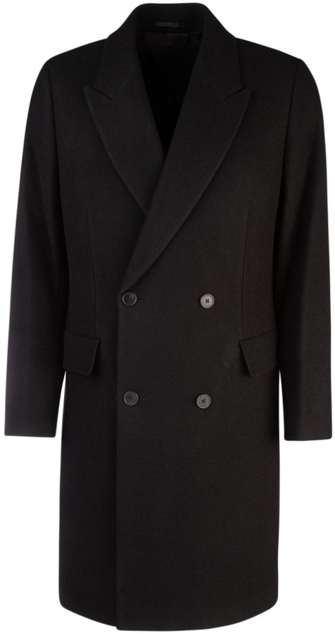 Mickey Double Breasted Super 180s Wool Coat