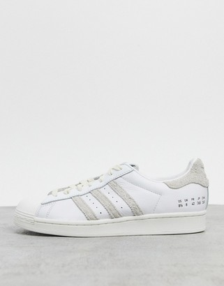 adidas premium Home of Classics Superstar trainers