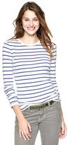 Gap Bowery supersoft striped crew