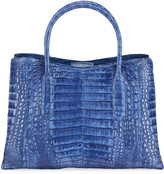 Nancy Gonzalez Medium Top Handle Crocodile Tote Bag