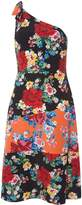 Dorothy Perkins Floral One Shoulder Dress