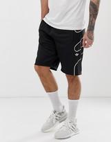 adidas flame strike shorts in black