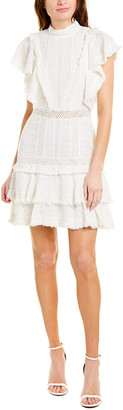 Alice + Olivia Bea Fringe Mini Dress