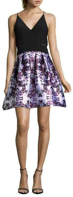 Xscape Evenings Floral Party Dress